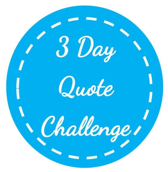 3-day-quote-challenge-badge