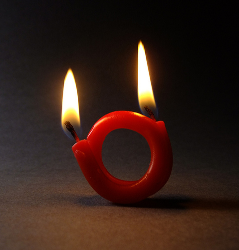 candle 1