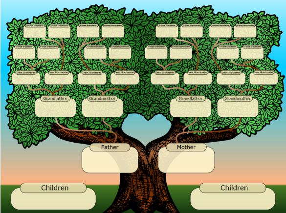 family tree, commonsensedad.com